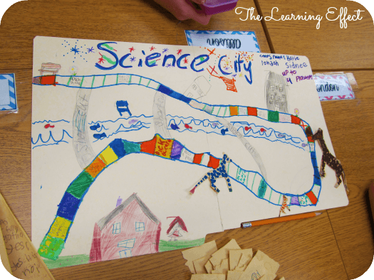 student created science board game