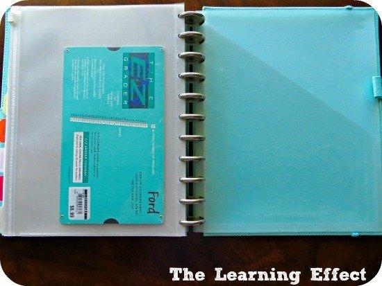 teacher planner pockets and ez grader