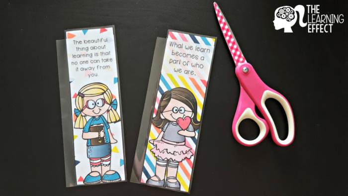 printable planner bookmarks